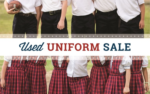 Save the Date: Used Uniform Sale - Wednesday, May 8th!